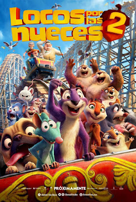 The Nut Job 2 2017 DVD Custom HD Latino