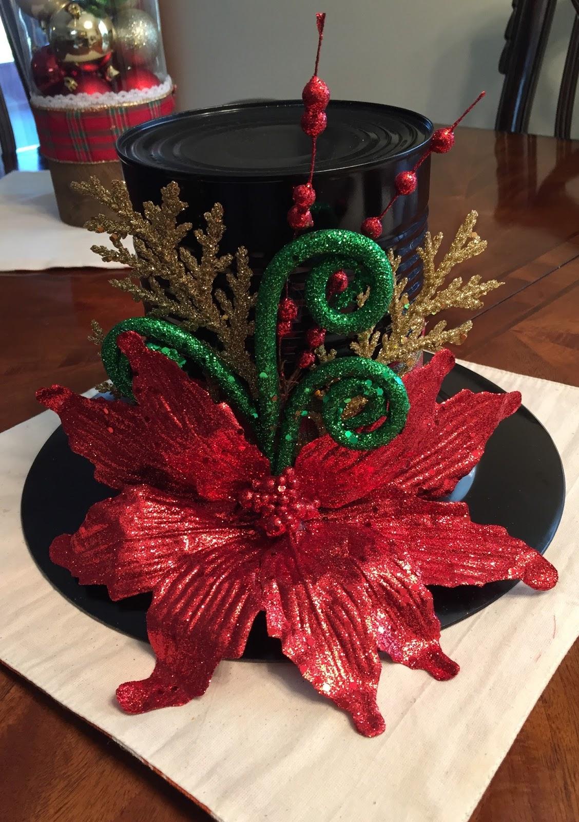 Sombrero navide o mis creaciones for Decoracion navidena rustica