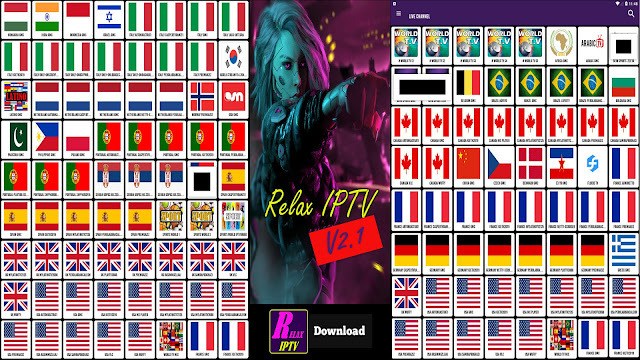 RELAX TV V2.1 BEST FREE IPTV & WATCH OVER 70000 CHANNELS ON YOUR ANDROID
