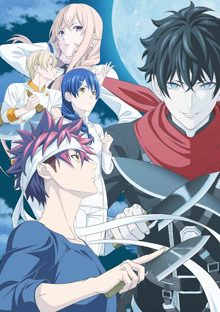 Anime: La quinta temporada de Shokugeki no Sōma se estrenará el 10 de abril.