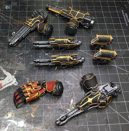 Warlord-Sinister Psi-Titan for Adeptus Titanicus WIP