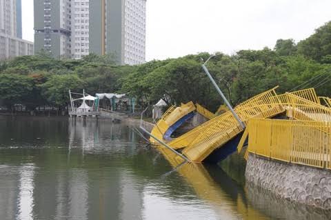 Terbongkar, Inilah Pemenang Tender di Balik Ambruknya Jembatan Kemayoran