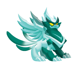 Appearance of WinterPhoenix Dragon when teenager