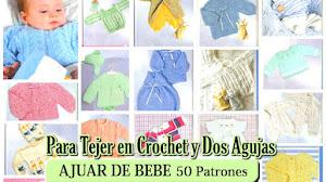 50 Prendas para Tejer el Ajuar de tu Bebé / Descarga gratis