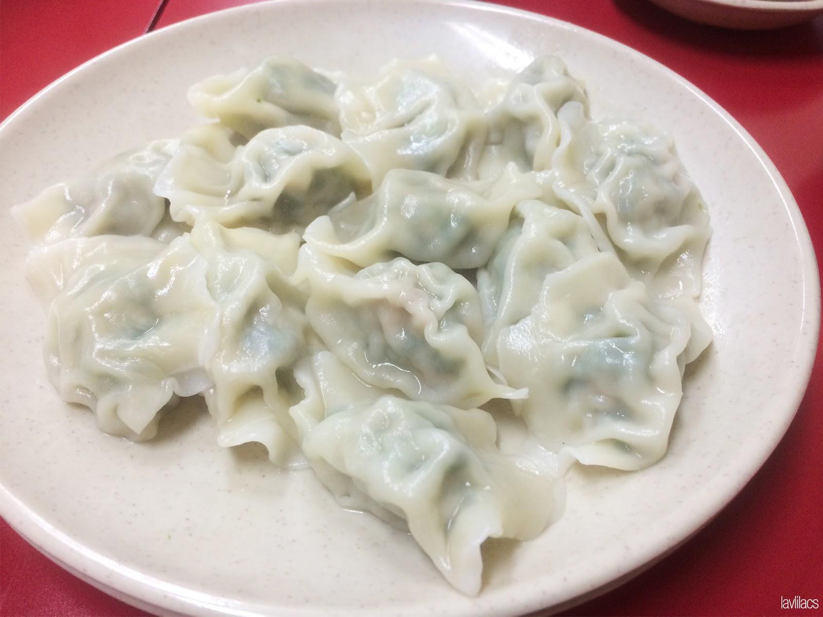 Seoul, Korea - Summer Study Abroad 2014 - Yeonhuidong 연희동- Five Spice Mandoo 五香만두 - Boiled dumplings Mool mandoo 물만두