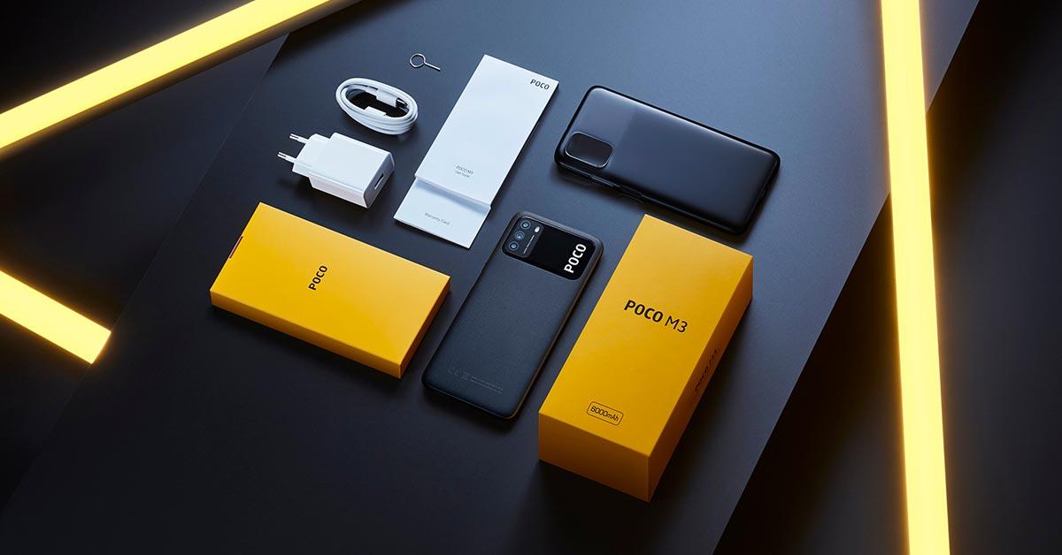 POCO M3 ra mắt tại Ấn Độ với giá 150$ với pin 6000 mAh - camera 48MP