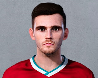 PES 2021 Faces Andrew Robertson by Christian Jr