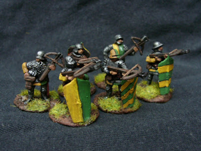 Armoured Crossbowmen - Tumbling Dice