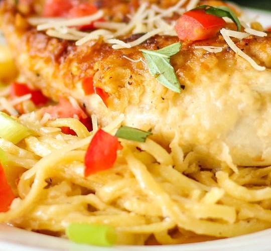 Olive Garden Copycat Chicken Vino Bianco #dinner #parmesan