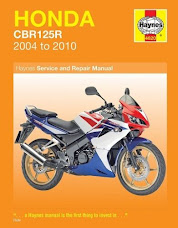 Honda CBR 125 R How to remove the starter motor from engine