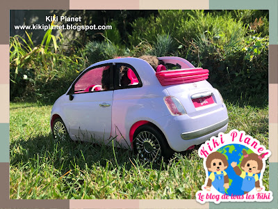 kiki monchhichi car voiture barbie toys life kidult