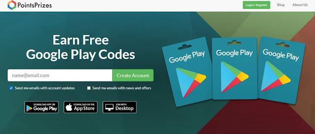 اسرع طرق لربح بطاقات جوجل بلاي مجانا وشحن الالعاب للاندرويد والايفون