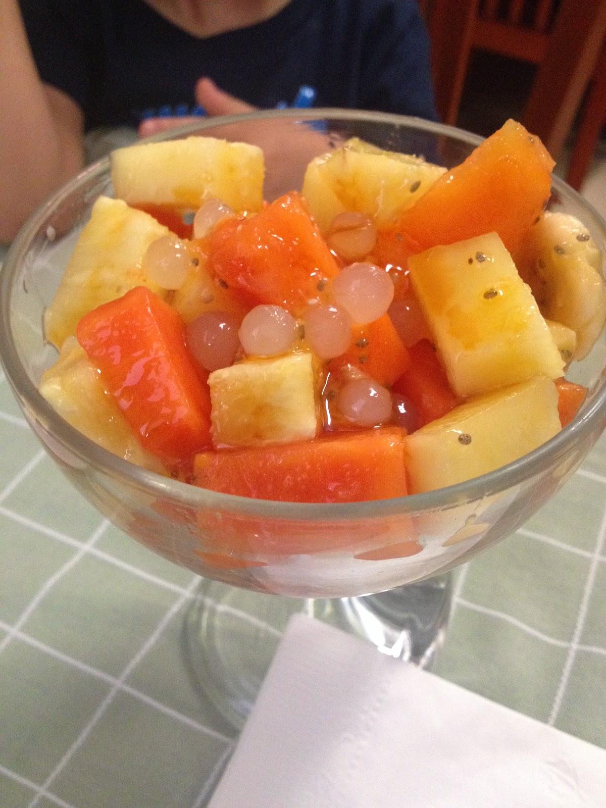 Cocktail de Frutas en Nicos