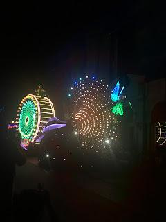 Paint the Night Tinkerbelle Opening Disney California Adventure