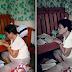 64-year-old senior high student inspires netizens for her determination