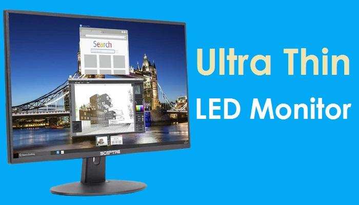 Sceptre 20-Inch Ultra Thin LED Monitor