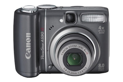 Canon PowerShot A590 IS Driver Download Windows, Mac