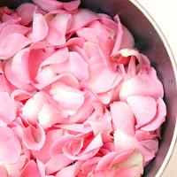 1. Fresh rose petals