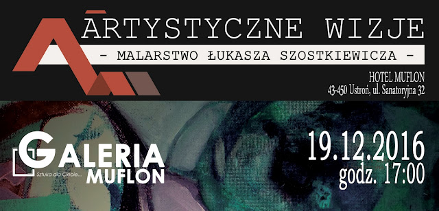 """Wystawa """"Artystyczne wizje"""" w Ustroniu"""