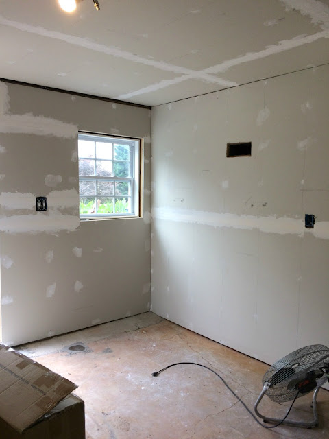 Our Basement Renovation - Learning How to Drywall, Then Hiring It Out