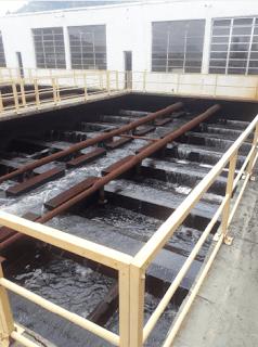 filtro estação tratamento agua