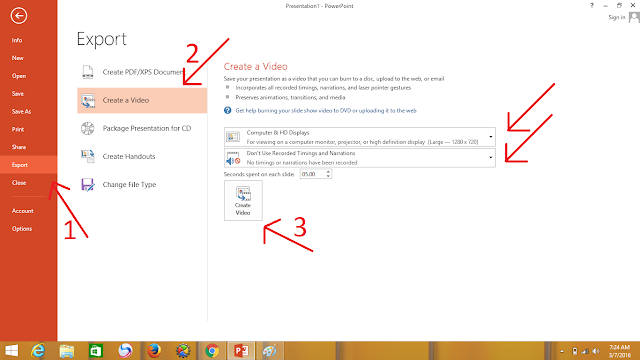 Cara Mengubah Presentasi Power Point Menjadi Video dengan Mudah