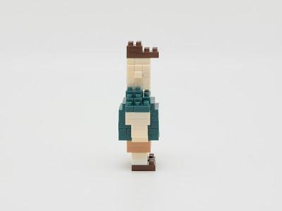 ナノブロック で作った スース(怪奇ゾーン グラビティフォールズ)