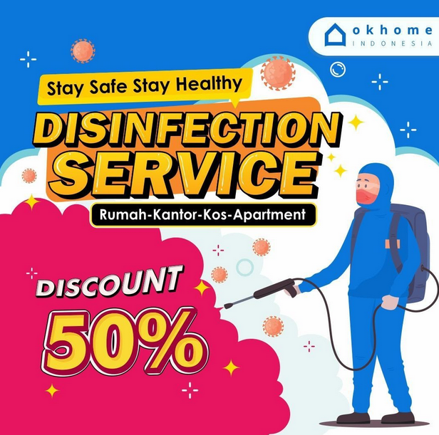 Layanan OKHOME Disinfection Service