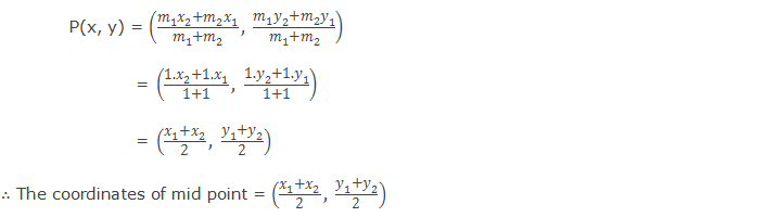 Mid-point formula