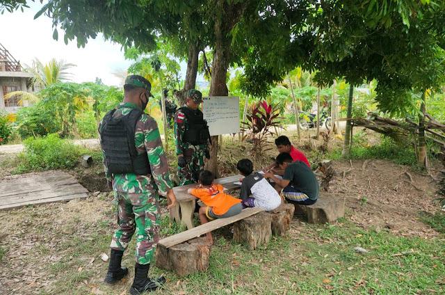 TNI Peduli Pendidikan Anak Perbatasan