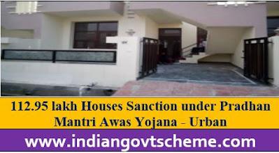 Houses Sanction under Pradhan Mantri Awas Yojana