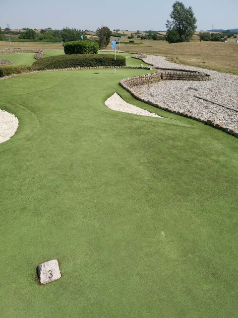 Miniature Golf course at Dunton Hills Family Golf Centre in West Horndon. Photo by Stephen Skinner, August 2020
