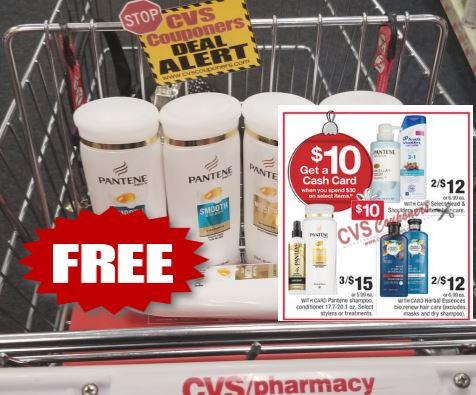pantene freebie cvs couponers deal