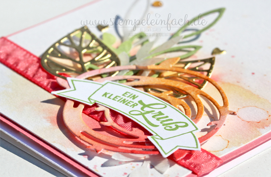 Stampin Up-Aquarellkarte