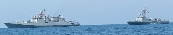 India And Qatar Conduct Joint Naval Exercise In Persian Gulf