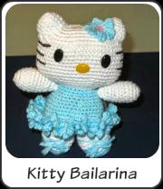 Amigurumi Kitty bailarina