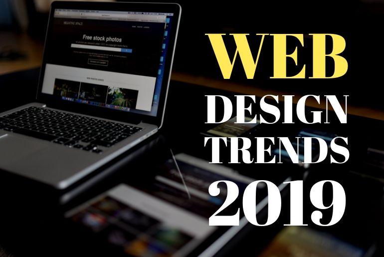 web design trends, web design trends 2019, 2019 web design