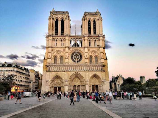Notre Dame in Paris is the most beautiful cathedral in the world