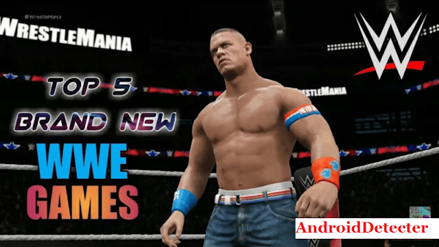 Top 5 WWE Games For Android/iOS Download Link [Latest]