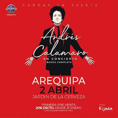 Andres Calamaro en Arequipa
