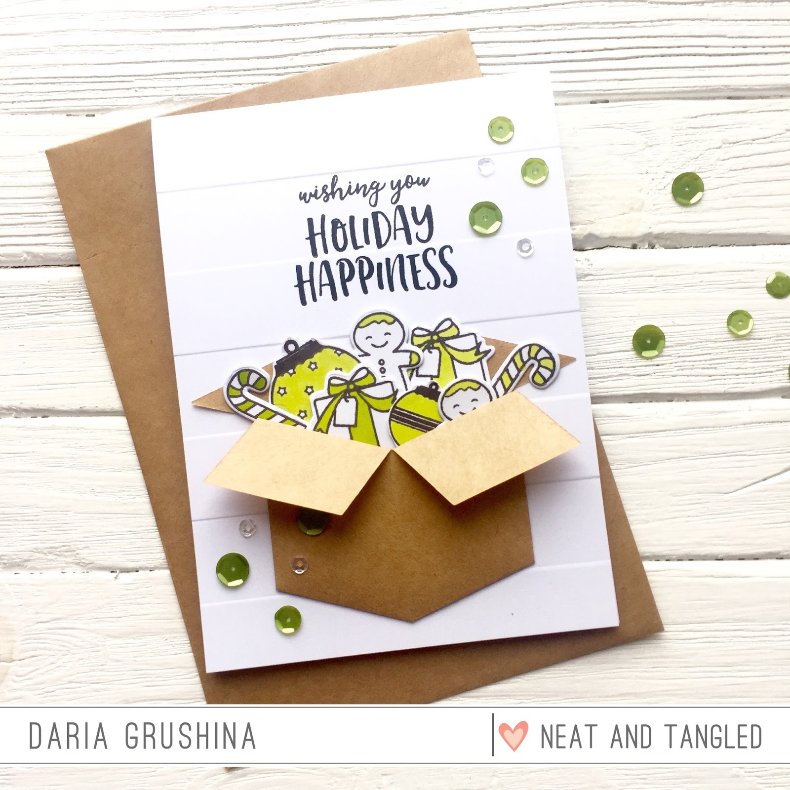 Box Full of Holiday Happiness with Daria   Neat and Tangled