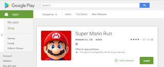 Super Mario Run Sudah Bisa Kamu Mainkan Di HP Android Kamu