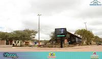 Praça da Matriz em Ibicoara recebe painel digital em Led