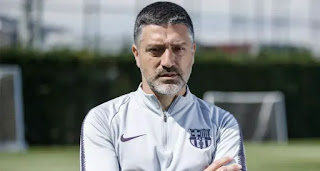 Barca B coach on managing first team: 'I work to be prepared if the club needs me'