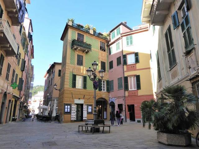 Piazza Bovani Varazza
