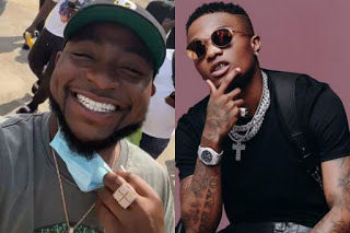 ''No Be By Gold Teeth'', Davido Shade Wizkid In New Video, Fans Fires Back At Davido.