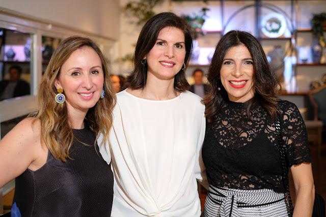 Ana Catalina García, Karina Pablo y Pia Miró Quesada