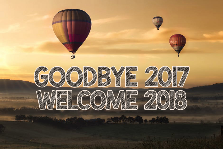 Goodbye 2017 Welcome 2018 New Year Wishes Images Sms And