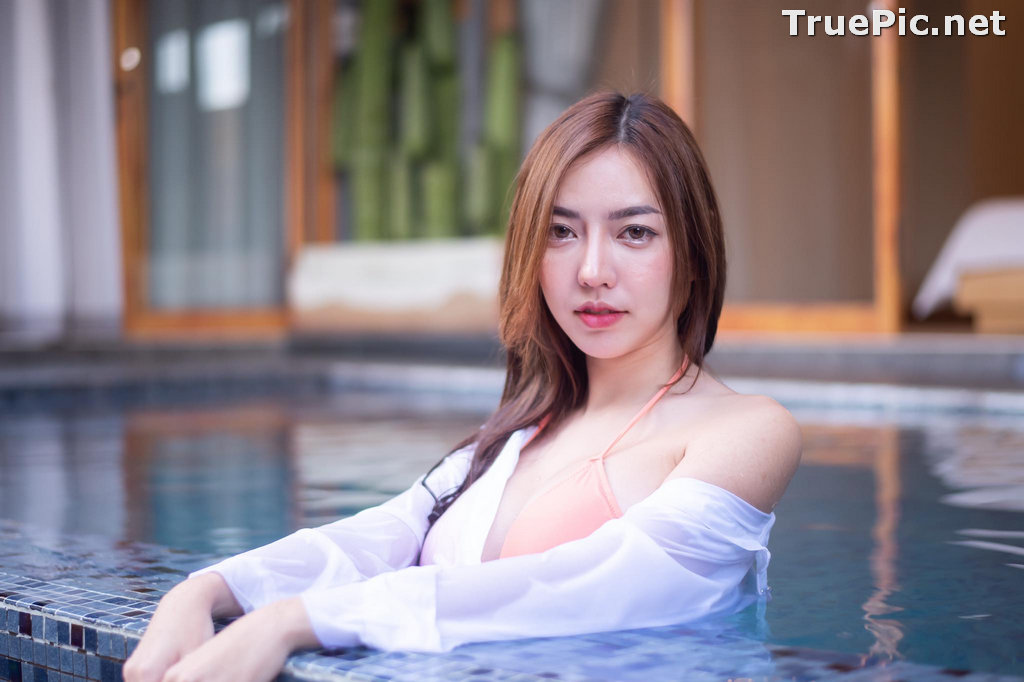 Image Thailand Model - Champ Phawida - Champ In The Pool - TruePic.net - Picture-8