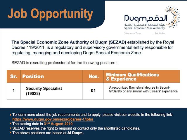 Jobs in Duqm